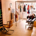 dom opieki z salą rehabilitacyjną